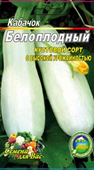 Кабачок-Белоплодный