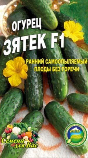 Огурец-Зятек-F1